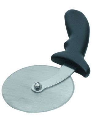 05-996 S/St.Pizza Cutter 4INWheel/Plastic Hdl.