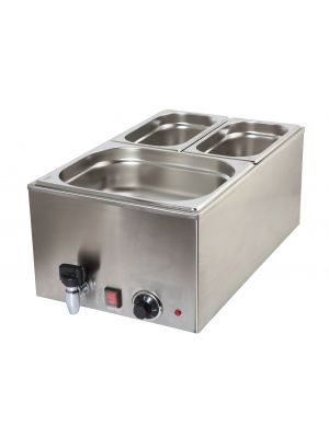 172-1020 Bain Marie 1/1 With Tap 1.2Kw