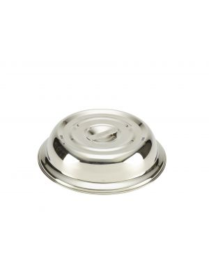 21483 Round S/St. Plate Cover For 8IN Plate