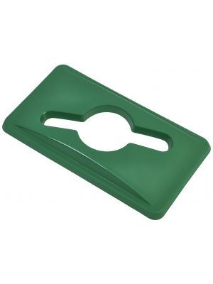 23233553 Green Glass Lid For Slim Recycling Bin