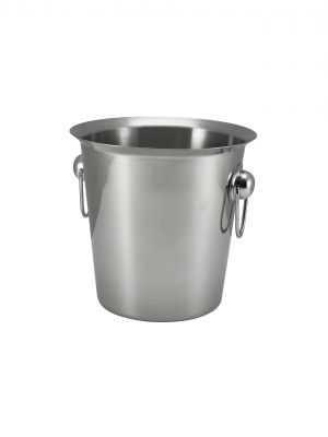 26203 S/St.Wine Bucket With Ring Handles