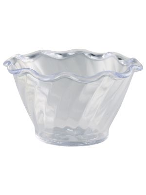 4530-07 Tulip Dessert Dish Clear 159ml 95 x 55mm