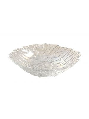 B3185 Glacier Glass Salad Bowl 25cm Dia