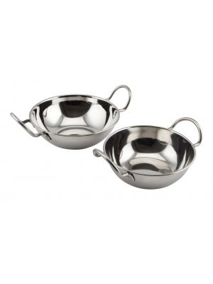 BD13 Stainless Steel Balti Dish 13cm(5IN)With Handl