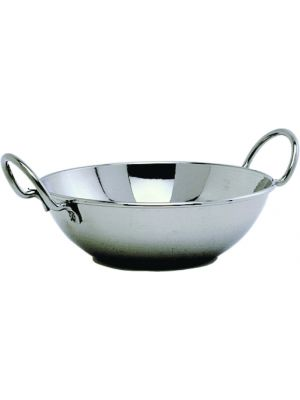 BD15 S/St.Balti Dish 15cm(6IN)With Handles