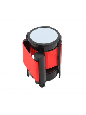 BP-BLTR Genware Barrier Post - Retractable Red Belt