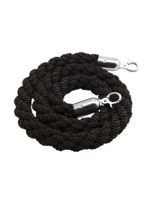 BR-BK Barrier Rope Black - Use W/Code BP-RPE