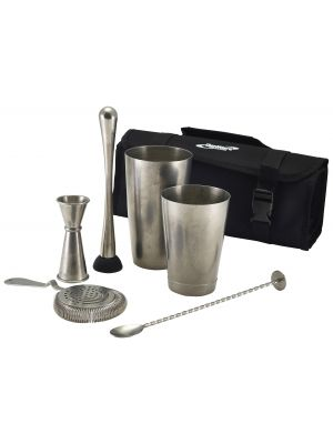 CBK3V Vintage Cocktail Bar Kit 7pcs