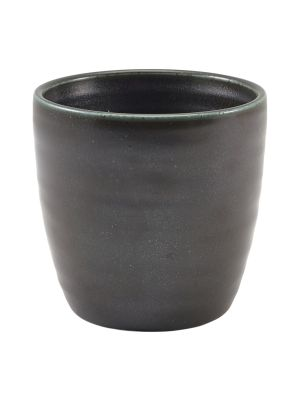 CC-PBK32 Terra Porcelain Black Chip Cup 32cl/11.25oz