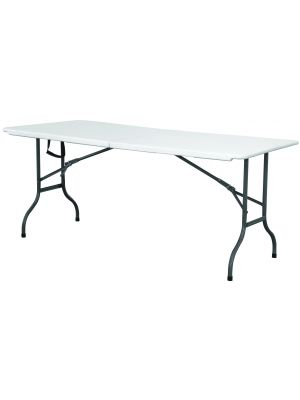 CFT6 Centre Folding Table 6IN White HDPE