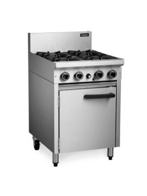 Cobra CR6D- 4 Burner Range Static Oven