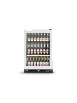 IMC F82/060SS Stainless, Single Hinged Door Bottle Cooler