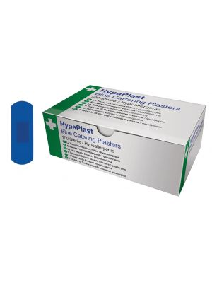 FAPL Blue Detectable Plasters 2.5 x 7cm Box 100