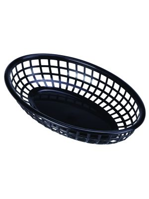 FFB23-B Fast Food Basket Black 23.5 x 15.4cm