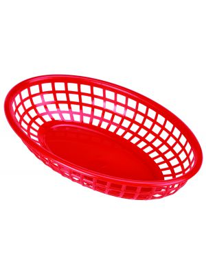 FFB23-R Fast Food Basket Red 23.5 x 15.4cm