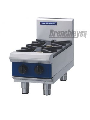 Blue Seal G512D-B Gas Cooktop 2 Burner Bench 300mm