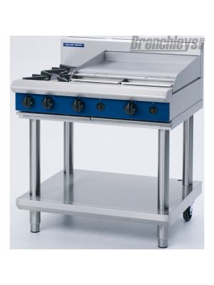 Blue Seal G516A-LS Gas Cooktop 900mm Griddle Leg Stand 900mm