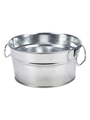 GSB15 Galvanised Steel Serving Bucket 15 x 8cm