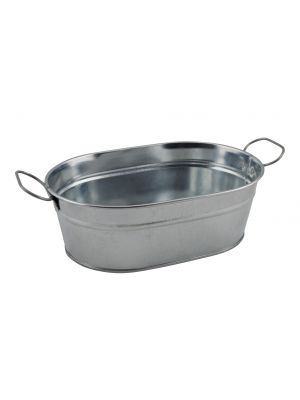 GSB2315 Galvanised Steel Serving Bucket 23 x 15 x 7cm