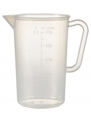 MJPP05 Polypropylene Measuring Jug 500ml
