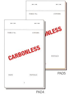 PAD5 Order Pad 50 Sheet Trip Ncr 165X95mm Box 50