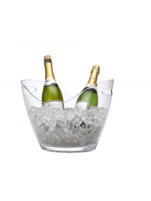PCB-L Clear Plastic Champagne Bucket Large