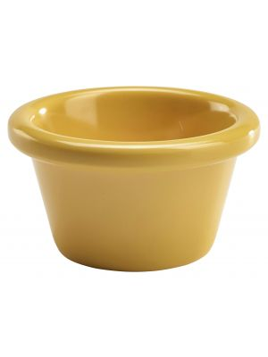 S275-22 Ramekin 1.5oz Smooth Yellow