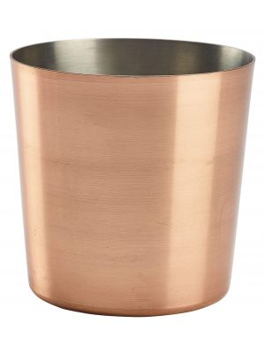 SVC8C Copper Plated Serving Cup 8.5 x 8.5cm