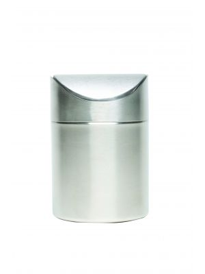 TABIN-1611 S/St Table Bin 17cm High x 11.5cm Dia