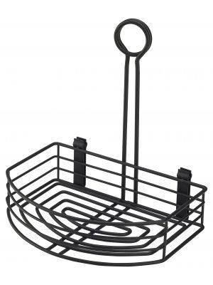 TC86-BK Black Wire Table Caddy 8.5 x 6 x 9 (H)