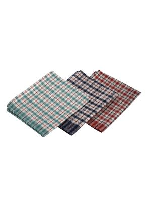 TW01 Mini Check T-Towel 43X68cm 10Pcs Mix Colours