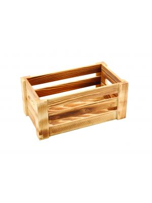WDC-2716 Wooden Crate Rustic Finish 27 x 16 x 12cm