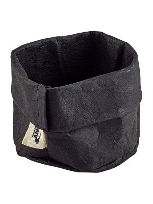 WPB-7BK Black Washable Paper Bag 7 Dia x 6cm (H)