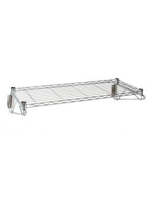 WS-3614 Wall Mounted Wire Shelf 36(L) X 14(D)